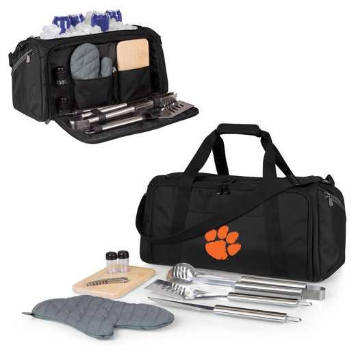 757-06-175-104-0: Clemson Tigers - BBQ Kit Cooler