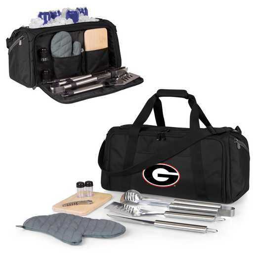 757-06-175-184-0: Georgia Bulldogs - BBQ Kit Cooler