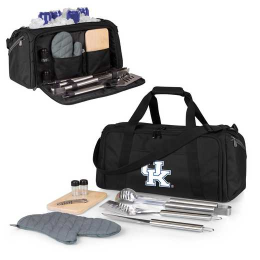 757-06-175-264-0: Kentucky Wildcats - BBQ Kit Cooler
