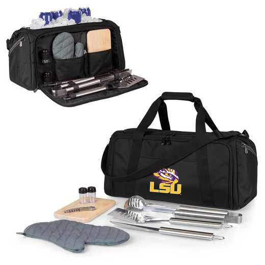 757-06-175-294-0: LSU Tigers - BBQ Kit Cooler