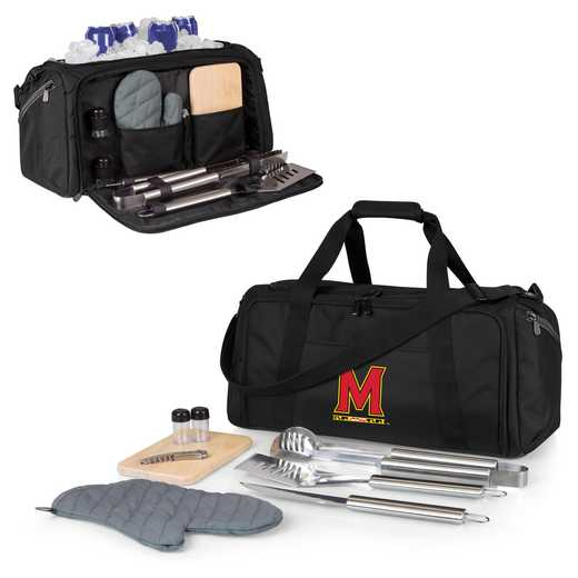 757-06-175-314-0: Maryland Terrapins - BBQ Kit Cooler