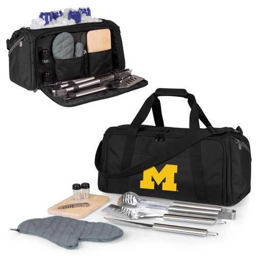 757-06-175-344-0: Michigan Wolverines - BBQ Kit Cooler