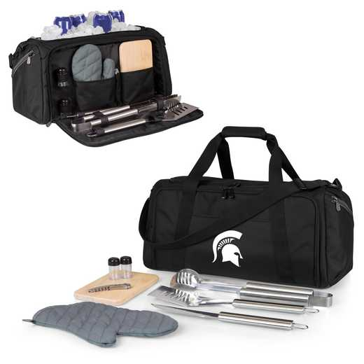 757-06-175-354-0: Michigan State Spartans - BBQ Kit Cooler
