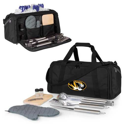757-06-175-394-0: Mizzou Tigers - BBQ Kit Cooler