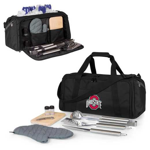 757-06-175-444-0: Ohio State Buckeyes - BBQ Kit Cooler