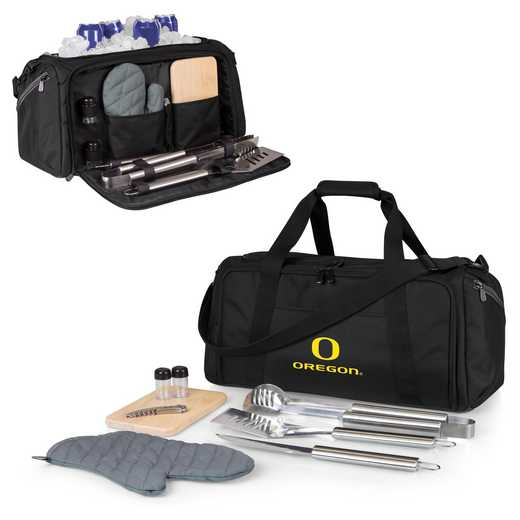 757-06-175-474-0: Oregon Ducks - BBQ Kit Cooler