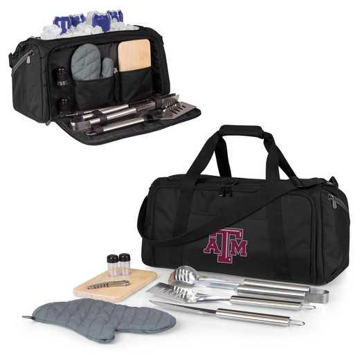 757-06-175-564-0: Texas A&M Aggies - BBQ Kit Cooler