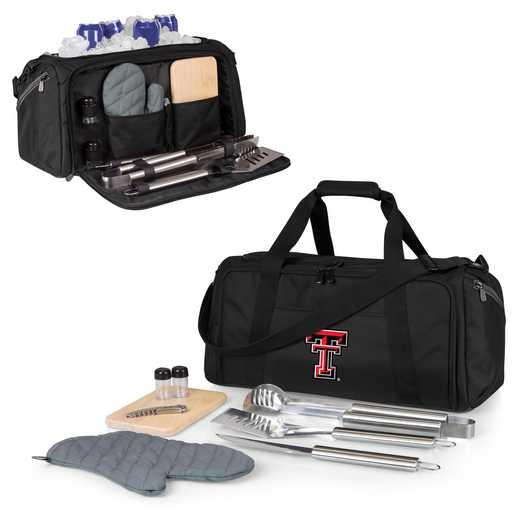 757-06-175-574-0: Texas Tech Red Raiders - BBQ Kit Cooler