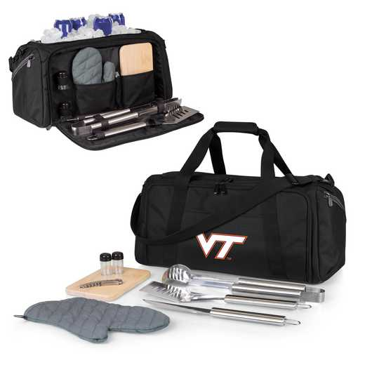 757-06-175-604-0: Virginia Tech Hokies - BBQ Kit Cooler