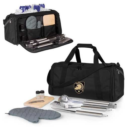 757-06-175-764-0: West Point Black Knights - BBQ Kit Cooler
