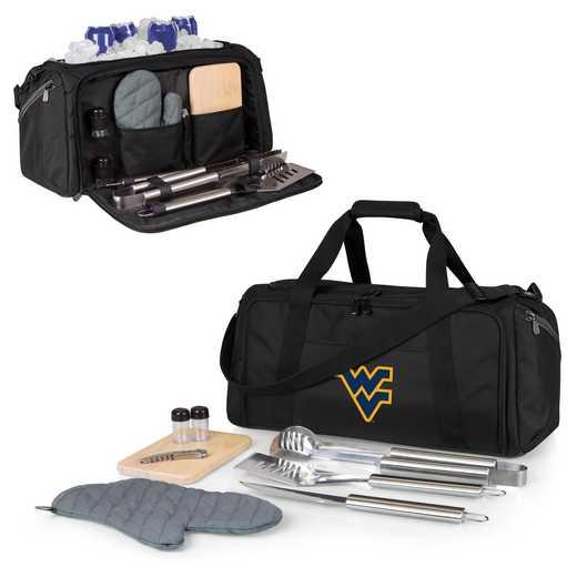 757-06-175-834-0: West Virginia Mountaineers - BBQ Kit Cooler