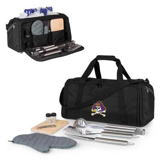 757-06-175-874-0: East Carolina Pirates - BBQ Kit Cooler