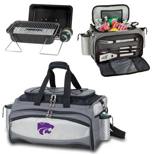 770-00-175-254-0: Kansas State Wildcats - Vulcan Portable BBQ / Cooler Tote