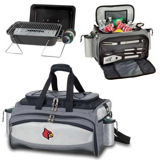 770-00-175-304-0: Louisville Cardinals - Vulcan Portable BBQ / Cooler Tote