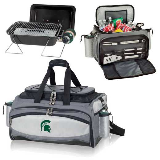 770-00-175-354-0: Michigan State Spartans - Vulcan Portable BBQ / Cooler Tote