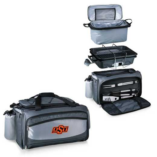 770-00-175-464-0: Oklahoma State Cowboys - Vulcan Portable BBQ / Cooler Tote