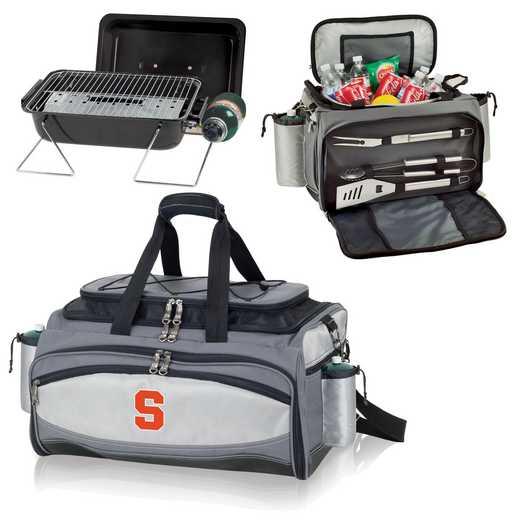 770-00-175-544-0: Syracuse Orange - Vulcan Portable BBQ / Cooler Tote