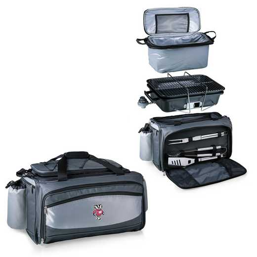 770-00-175-644-0: Wisconsin Badgers - Vulcan Portable BBQ / Cooler Tote