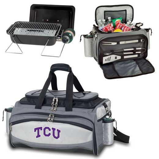 770-00-175-844-0: TCU Horned Frogs - Vulcan Portable BBQ / Cooler Tote