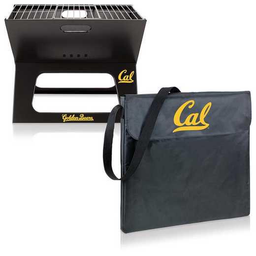 775-00-175-074-0: Cal Bears - X-Grill Portable BBQ