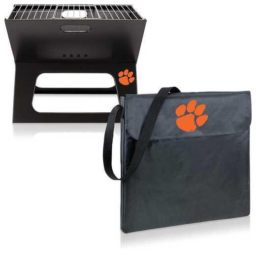 775-00-175-104-0: Clemson Tigers - X-Grill Portable BBQ
