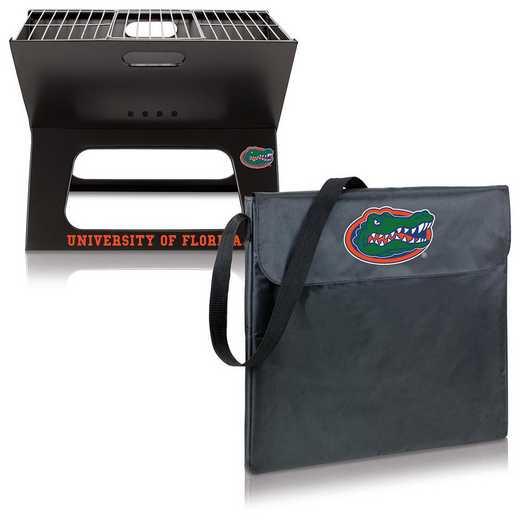 775-00-175-164-0: Florida Gators - X-Grill Portable BBQ