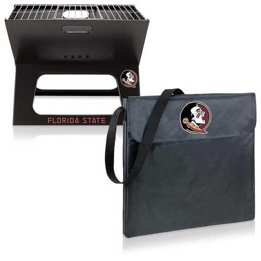 775-00-175-174-0: Florida State Seminoles - X-Grill Portable BBQ