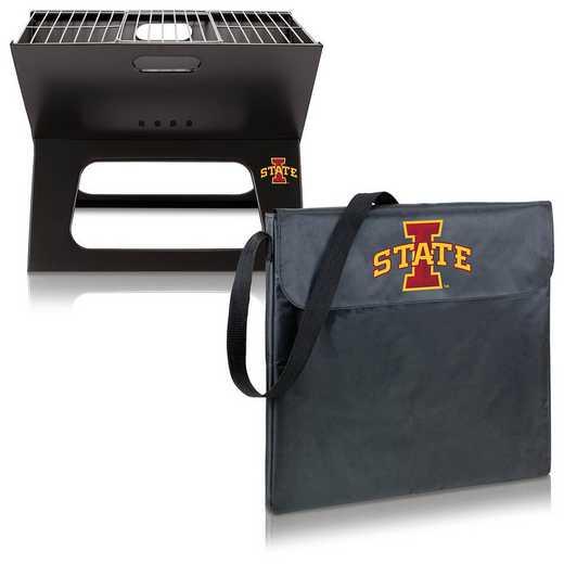 775-00-175-234-0: Iowa State Cyclones - X-Grill Portable BBQ