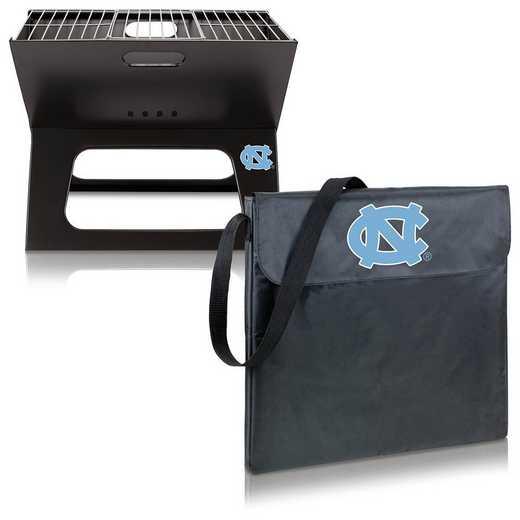775-00-175-414-0: North Carolina Tar Heels - X-Grill Portable BBQ