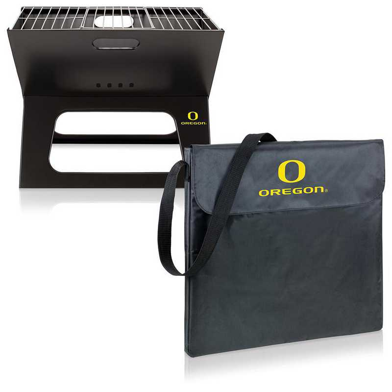 775-00-175-474-0: Oregon Ducks - X-Grill Portable BBQ