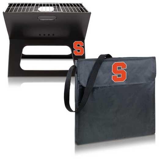 775-00-175-544-0: Syracuse Orange - X-Grill Portable BBQ
