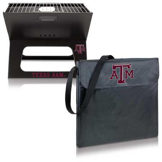 775-00-175-564-0: Texas A&M Aggies - X-Grill Portable BBQ