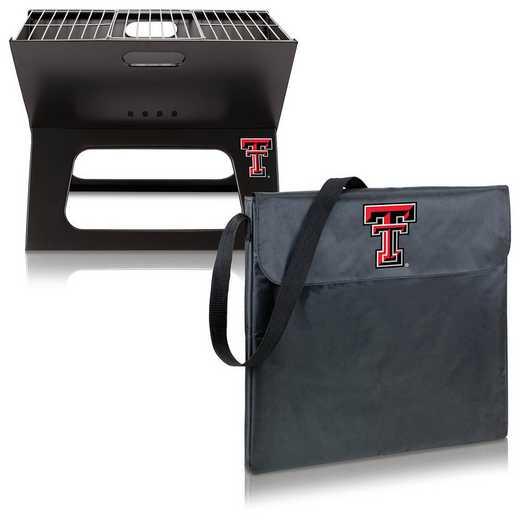 775-00-175-574-0: Texas Tech Red Raiders - X-Grill Portable BBQ