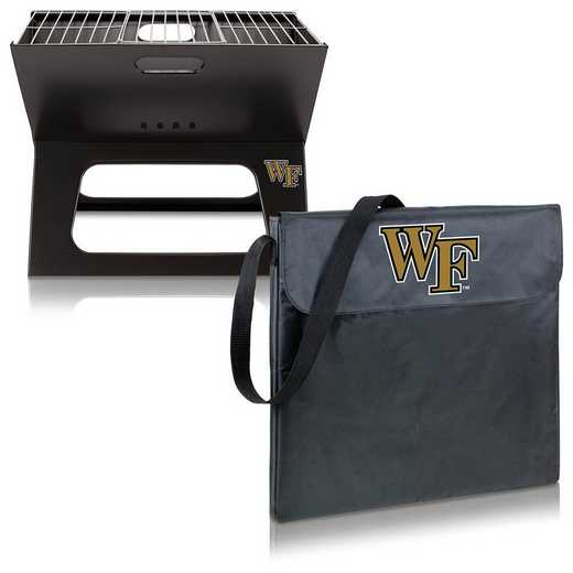 775-00-175-614-0: Wake Forest Demon Deacons - X-Grill Portable BBQ