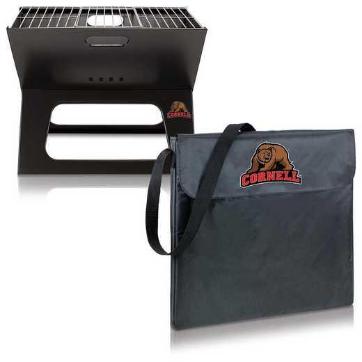 775-00-175-684-0: Cornell Big Red - X-Grill Portable BBQ