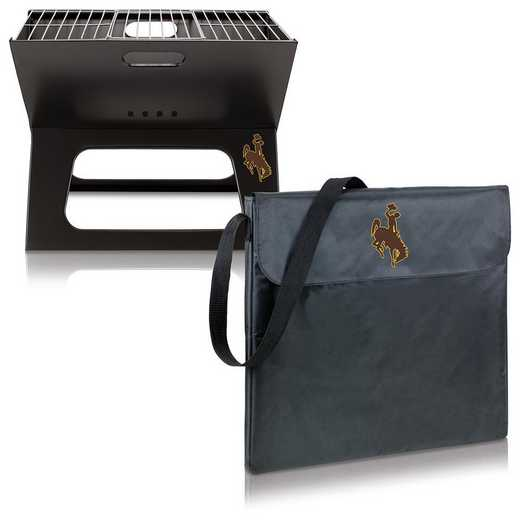 775-00-175-694-0: Wyoming Cowboys - X-Grill Portable BBQ
