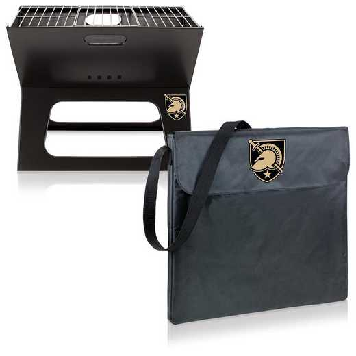 775-00-175-764-0: West Point Black Knights - X-Grill Portable BBQ