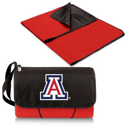 820-00-100-014-0: Arizona Wildcats - Blanket Tote (Red)