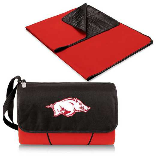 820-00-100-034-0: Arkansas Razorbacks - Blanket Tote (Red)