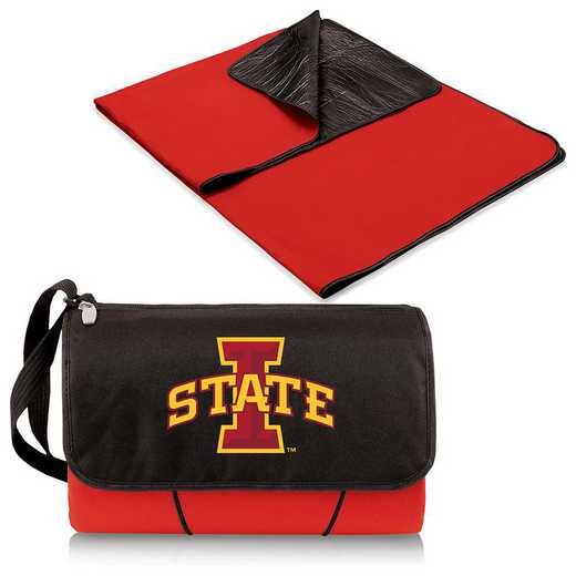 820-00-100-234-0: Iowa State Cyclones - Blanket Tote (Red)