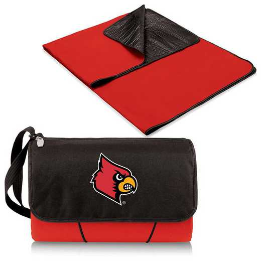 820-00-100-304-0: Louisville Cardinals - Blanket Tote (Red)