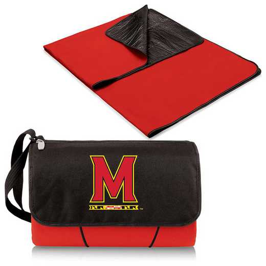 820-00-100-314-0: Maryland Terrapins - Blanket Tote (Red)