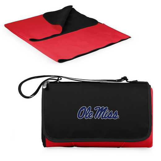 820-00-100-374-0: Ole Miss Rebels - Blanket Tote (Red)
