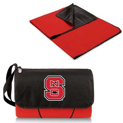 820-00-100-424-0: NC State Wolfpack - Blanket Tote (Red)