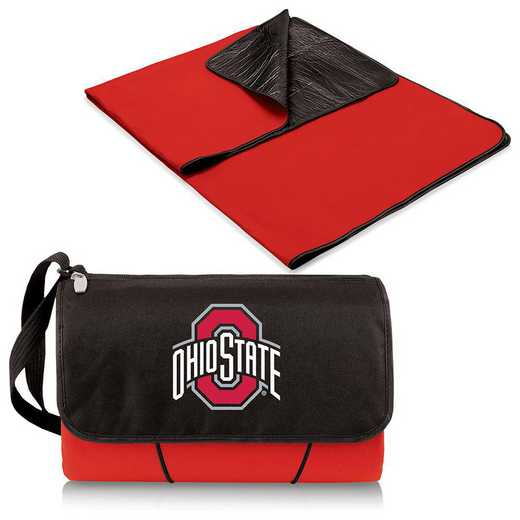 820-00-100-444-0: Ohio State Buckeyes - Blanket Tote (Red)