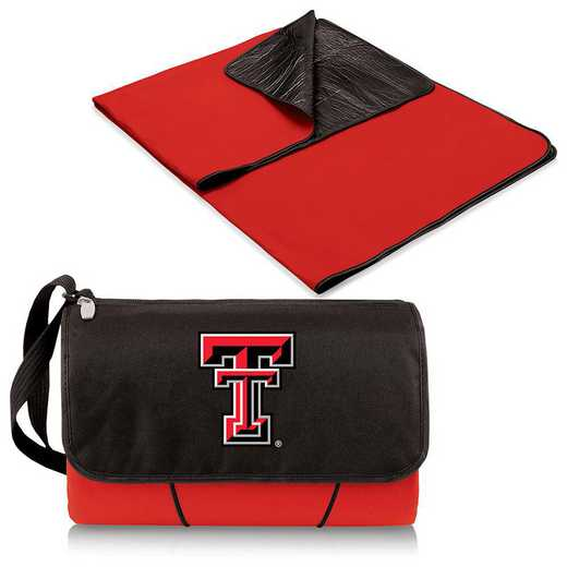 820-00-100-574-0: Texas Tech Red Raiders - Blanket Tote (Red)