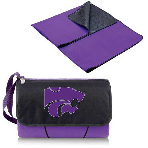 820-00-101-254-0: Kansas State Wildcats - Blanket Tote (Purple)