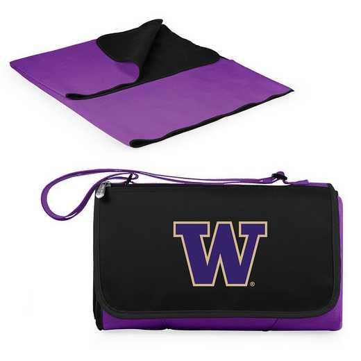 820-00-101-624-0: Washington Huskies - Blanket Tote (Purple)