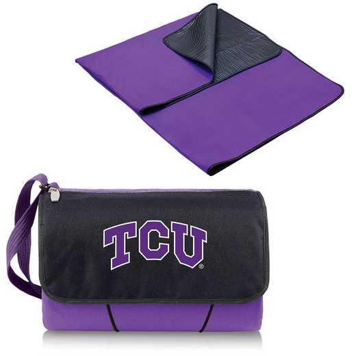 820-00-101-844-0: TCU Horned Frogs - Blanket Tote (Purple)