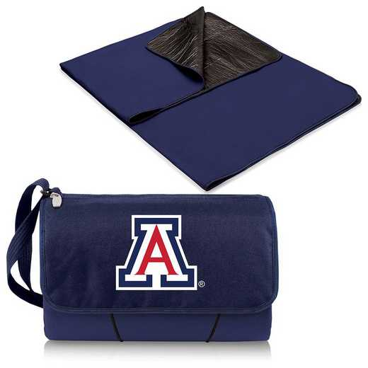 820-00-138-014-0: Arizona Wildcats - Blanket Tote (Navy)